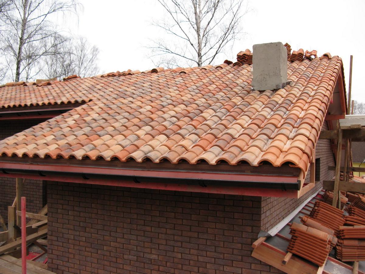 Черепичные крыши фото